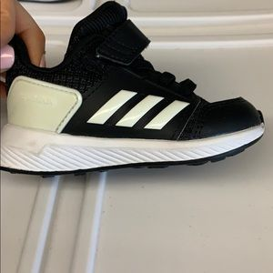 Never worn baby adidas size 5